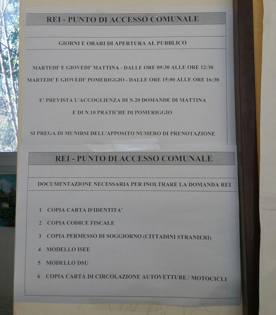Primo giorno di domande REI al Comune di Caserta, poca chiarezza e ...