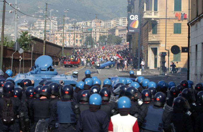 G8 di Genova, a 18 anni dai fatti della scuola Diaz la